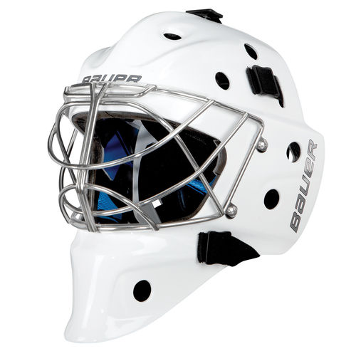 BAUER TORWART MASKE NME 8 -NON.  CERT. CAT EYE -  SR.