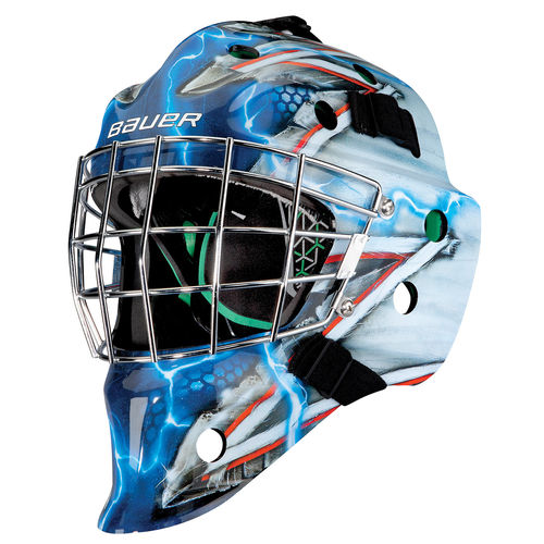 BAUER TORWART MASKE NME 4 KING NYR - JR.
