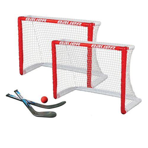 BAUER KNEE 2 HOCKEY GOAL 2ER SET 30.5""